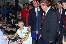 """政府常务副总理张和平:""""红色星期日""""是富有人文性的活动"""