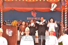 柬埔寨推翻波尔布特种族灭绝政权39周年纪念活动在金边举行