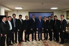 河内市高级代表团圆满结束对土耳其、瑞士、比利时进行的工作访问