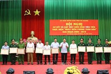 Phát huy sức mạnh tổng hợp trong thực hiện Ngày Biên phòng toàn dân ở biên cương Hà Giang