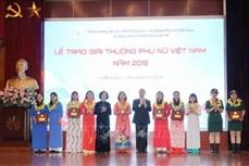 """Lễ trao """"Giải thưởng Phụ nữ Việt Nam 2018"""""""