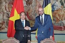越南与比利时发表联合声明
