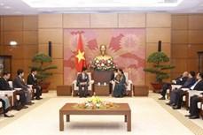越南国会常务副主席丛氏放会见日本医疗专家团