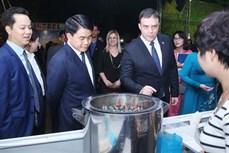 """越南以色列建交25周年:""""河内中的以色列""""展览会"""