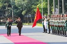 柬埔寨国家宪兵总司令冯批森对越南进行正式访问