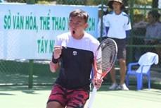 2018年越南男网F5未来赛:李黄南取得开门红