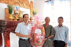 Thăm, chúc Tết Katê đồng bào Chăm ở Bình Thuận