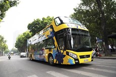 越南旅游:河内市双层巴士Vietnam Sightseeing和升龙-河内市内旅游线路亮相