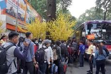 河内计划安排春节班车接送大学生和工人返乡过年