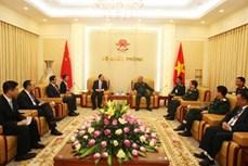 越南与中国促进口岸管理合作