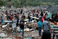 印尼海啸死亡人数升至373人