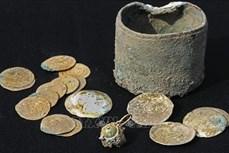 Phát hiện những cổ vật bằng vàng cách đây 900 năm tại Israel