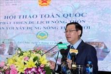 Phó Thủ tướng Vương Đình Huệ: Phát triển du lịch nông thôn cần quan tâm đến lợi ích cộng đồng