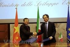 越南与意大利面向发展务实有效的经济合作