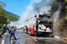 政府总理阮春福对岘港市及时指导解决在海云岭发生的旅行车自燃事故给予表彰