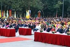 政府总理阮春福出席纪念玉回—栋多大捷229周年的栋多丘庙会