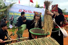 Lễ hội Cầu mùa của người Khơ Mú huyện Văn Chấn