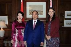 越南政府总理阮春福圆满结束对新西兰的正式访问