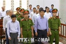 Xử vụ góp vốn 800 tỷ đồng vào OceanBank: Bị cáo Đinh La Thăng bị tuyên phạt 18 năm tù