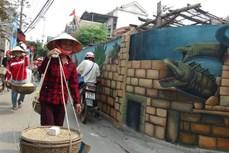 Ấn tượng làng bích họa Cảnh Dương