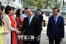 阮春福:《人民报》报社须进一步提高出版物质量 扩大报社知名度