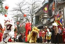 Lễ hội văn hóa dân gian Phố Hiến