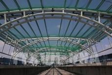 胡志明市地铁一号线两个 A级车站力争四月底完工