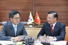 越南与韩国加强金融合作