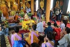 Tái hiện Tết Chol Chnam Thmay của đồng bào Khmer tại Hà Nội