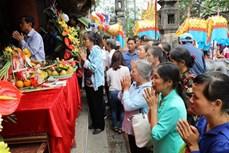 Các hoạt động cao điểm kỷ niệm 1050 năm Nhà nước Đại Cồ Việt và Lễ hội Hoa Lư năm 2018