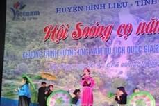 Hội Soóng cọ ở Bình Liêu năm 2018