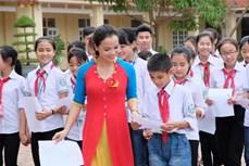 """Giọng ca """"nhí"""" Nguyễn Hữu Đạt với tình yêu dân ca ví, giặm"""