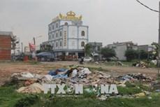 Tháo gỡ khó khăn trong vấn đề xử lý rác thải trên địa bàn tỉnh Long An