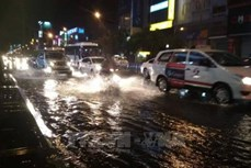 Thành phố Hồ Chí Minh: Thực hiện đồng bộ các giải pháp nhằm chống ngập nước trong mùa mưa