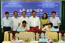 Sóc Trăng và Thành phố Hồ Chí Minh ký kết tiêu thụ nông sản, thủy sản an toàn