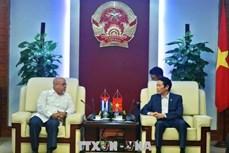 越南与古巴加强出版领域的合作