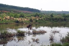 """Làm cầu treo dân sinh để người dân không còn """"liều mình đu cáp qua sông Pô Kô"""""""