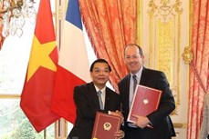 越南与法国开展非集中式合作