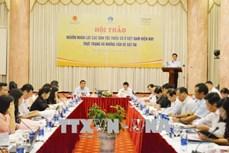 Hội thảo về nguồn nhân lực các dân tộc thiểu số ở Việt Nam hiện nay