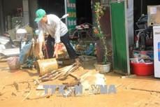 Phú Thọ: Nỗ lực khắc phục hậu quả do mưa lũ gây ra
