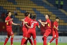 2018年东南亚女子足球锦标赛:越南队6比0大胜印度尼西亚队
