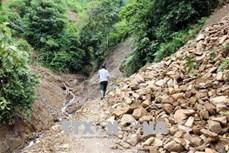 28 bản ở huyện Nậm Nhùn vẫn bị cô lập sau mưa lũ