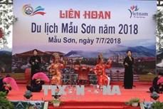 Liên hoan du lịch Mẫu Sơn thu hút hàng nghìn du khách