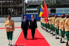 越南与埃塞俄比亚发表联合声明: 推动两国关系步入新时期