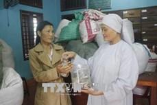 Sư cô Thích Nữ Minh Chánh miệt mài làm từ thiện cứu người