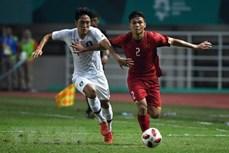 ASIAD 2018:国际媒体高度称赞越南国奥队顽强坚韧的战斗意志