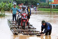 政府总理下达公函指示应对九龙江三角洲和北部地区水灾