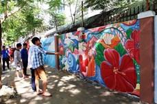 岘港市壁画之路完美竣工