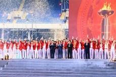 """越南体育代表团 """"越南自豪""""表彰会隆重举行"""
