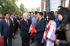 阮富仲总书记:保护与发挥越俄传统友好关系